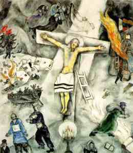 The White Crucifixion by Chagall